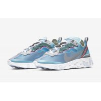 Shoes Low top trainers Nike React Element 87 Royal Tint Royal Tint/Black–Wolf Grey–Solar Red