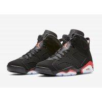 Shoes Hi top trainers Nike Air Jordan 6 Infrared Black/Infrared