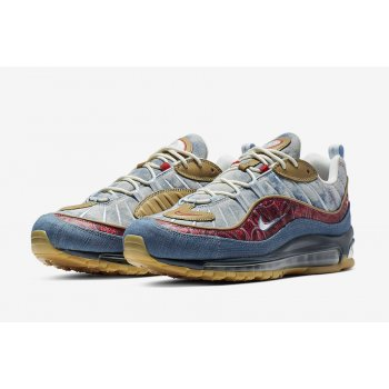 Shoes Low top trainers Nike Air Maw 98 Wild West Light Armory/University Red