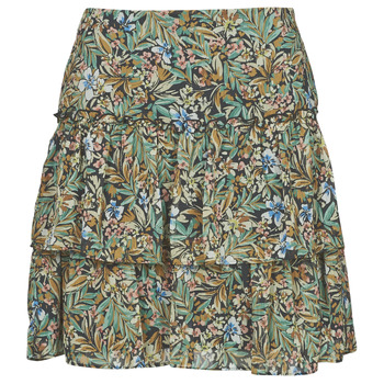 Clothing Women Skirts Naf Naf COUNTRY J2 Multicolour