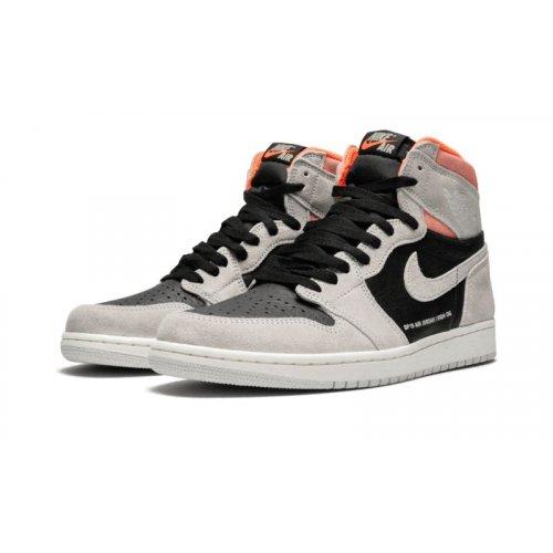 Shoes Hi top trainers Nike Air Jordan 1 High Hyper Crimson Neutral Grey/Hyper Crimson-White-Black