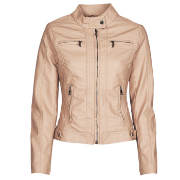 Clothing Women Leather jackets / Imitation leather Moony Mood ORNELLA Pink
