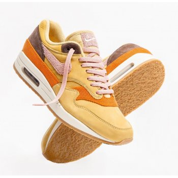 Shoes Low top trainers Nike Air Max 1 Bacon Wheat Gold Rust Pink-Baroque Brown
