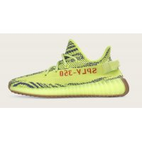 Shoes Low top trainers adidas Originals Yeezy Boost 350 V2 Semi Frozen Yellow Semi Frozen Yellow/Raw Steel-Red