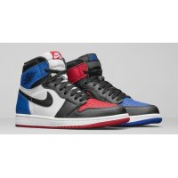 Shoes Hi top trainers Nike Air Jordan 1 High Top 3 Black/Sail-University Blue-Varsity Red