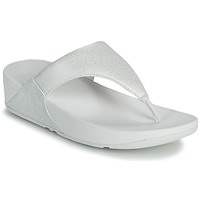 Shoes Women Flip flops FitFlop LULU SHIMMER TOE POST White