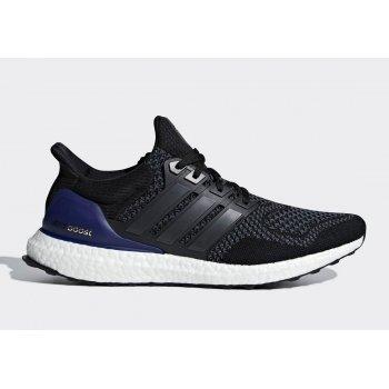 Shoes Low top trainers adidas Originals Ultra Boost Og Retro Core Black Core Black/Gold Metal/Purple