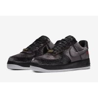 Shoes Low top trainers Nike Air Force 1 Low Black Velvet Black/Black/White