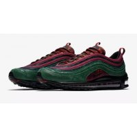 Shoes Low top trainers Nike Air Max 97 NRG Midnight Spruce  Team Red/Midnight Spruce