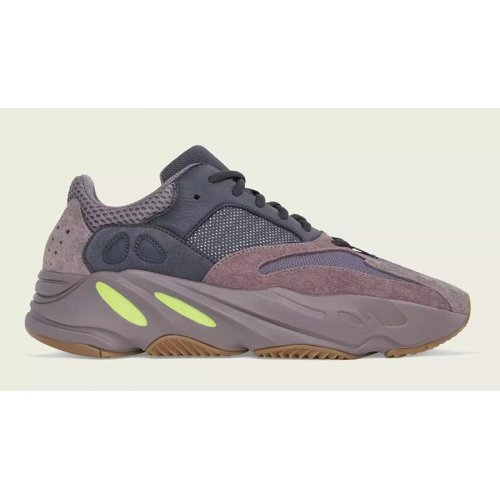 Shoes Low top trainers adidas Originals Yeezy Boos 700 Mauve Mauve/Mauve/Mauve