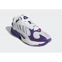 Shoes Low top trainers adidas Originals Yung 1 x DBZ Frieza Cloud White/Unity Purple-Clear Lilac