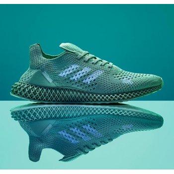 Shoes Low top trainers adidas Originals FuturCraft 4D x Daniel Arsham Aero Green