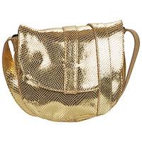 Bags Women Shoulder bags Pieces PCGABI Gold