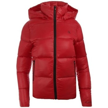 Clothing Women Duffel coats Calvin Klein Jeans J20J214115XME Red