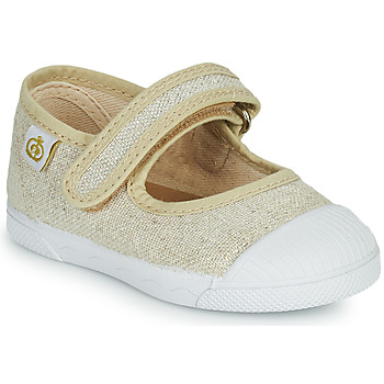 Shoes Girl Flat shoes Citrouille et Compagnie APSUT Beige