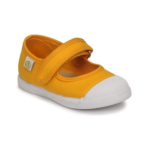 Shoes Girl Flat shoes Citrouille et Compagnie APSUT Yellow