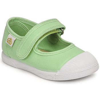 Shoes Girl Flat shoes Citrouille et Compagnie APSUT Pistachio