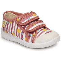 Shoes Girl Low top trainers Citrouille et Compagnie GLASSIA Pink / Printed