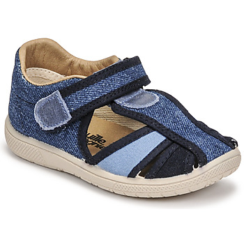 Shoes Boy Sandals Citrouille et Compagnie GUNCAL Blue / Jeans