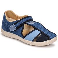 Shoes Children Sandals Citrouille et Compagnie GUNCAL Blue / Jeans