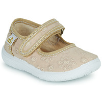 Shoes Girl Flat shoes Citrouille et Compagnie OSAPA Beige