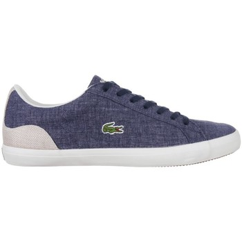 Shoes Men Low top trainers Lacoste Lerond 1 Navy blue, Graphite