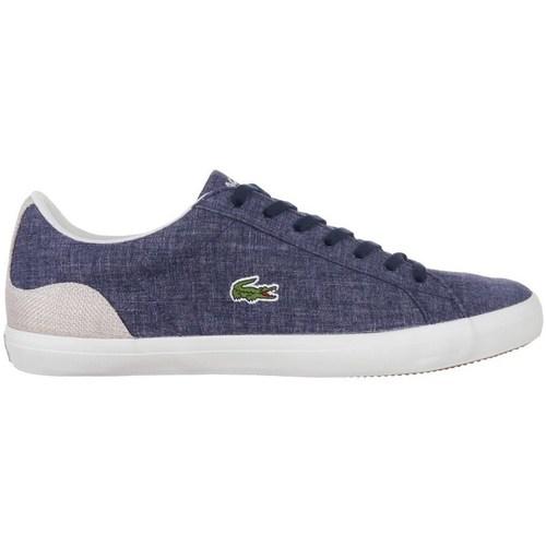 Shoes Men Low top trainers Lacoste Lerond 1 Navy blue, Graphite