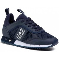 Shoes Men Low top trainers Emporio Armani EA7 X8X027XK050_d183navy blue