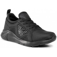 Shoes Men Low top trainers Emporio Armani EA7 X8X056XK169_a083black black