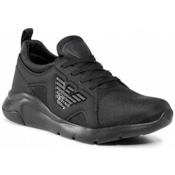 Shoes Men Low top trainers Ea7 Emporio Armani X8X056XK169_a083black black