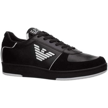 Shoes Men Low top trainers Emporio Armani EA7 X8X073XK176_a120black black