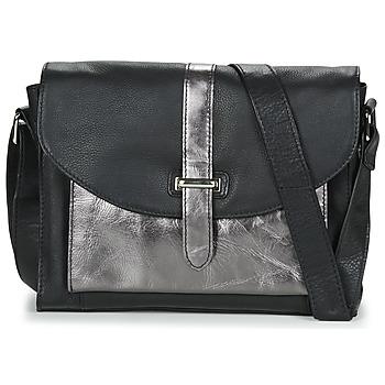 Bags Women Shoulder bags Betty London JAULAGIRI Black / Silver