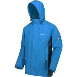 Clothing Men Parkas Regatta MATT Waterproof Shell Jacket Navy Blue Blue