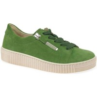 Shoes Women Low top trainers Gabor Wisdom Womens Casual Shoes green
