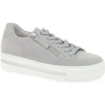 Shoes Women Low top trainers Gabor Heather Womens Casual Trainers grey