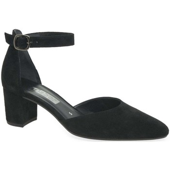 Shoes Women Heels Gabor Gala Womens Open Court Shoes black