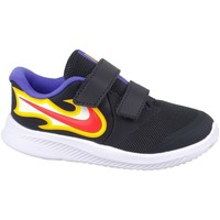 Shoes Children Low top trainers Nike Star Runner Black, Yellow, Violet