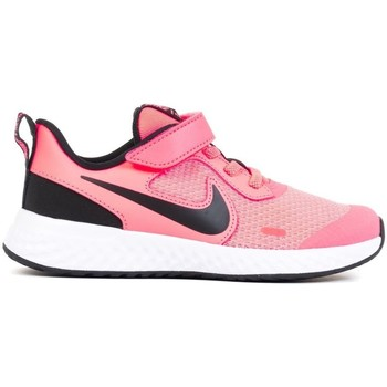 Shoes Children Low top trainers Nike Revolution 5 Psv Black, Pink