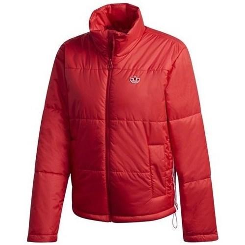 Clothing Women Duffel coats adidas Originals Short Puffer Red
