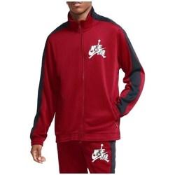 Clothing Men Sweaters Nike Air Jordan Jumpman Classics Trickot Warmup Jacket Red
