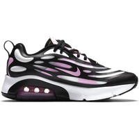 Shoes Children Low top trainers Nike Air Max Exosense GS White, Black, Violet