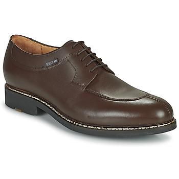 Shoes Men Derby Shoes & Brogues Pellet Magellan Brown