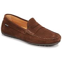 Shoes Men Loafers Pellet Cador Brown