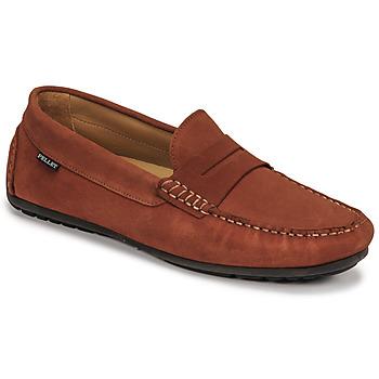 Shoes Men Loafers Pellet Cador Red
