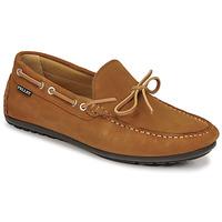 Shoes Men Loafers Pellet Nere Brown