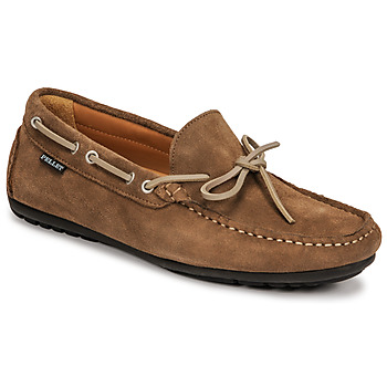 Shoes Men Loafers Pellet Nere Taupe