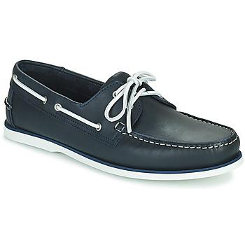 Shoes Men Boat shoes Pellet Vendée Blue