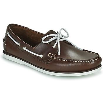 Shoes Men Boat shoes Pellet Vendée Brown