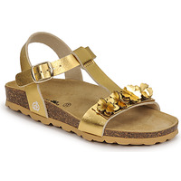 Shoes Girl Sandals Citrouille et Compagnie KAPIBA Gold