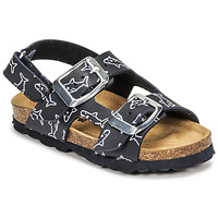 Shoes Boy Sandals Citrouille et Compagnie KELATU Marine / Printed